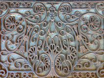 Old iron doormat Royalty Free Stock Photography