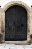Old Iron doors Royalty Free Stock Images