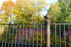 Old iron fencing Stock Photography
