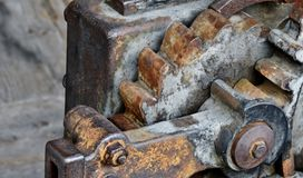 Old iron gears... Stock Photography