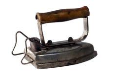 Old iron isolated on white background Royalty Free Stock Images