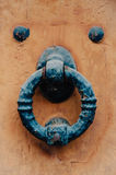 Old iron knocker Stock Photo