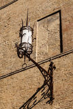 Old Iron Lantern in Siena Stock Photos