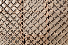 Old iron lattice Royalty Free Stock Image