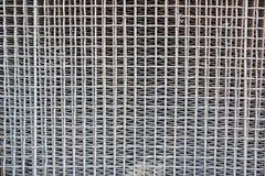 Old iron lattice protects a car radiator Royalty Free Stock Photos