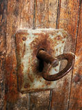 Old iron lock 4. Old iron lock on old doors Stock Images