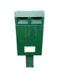 Old iron  mailbox Stock Photos