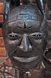An old iron mask. Pernambuco, Brazil, 2009. An old iron mask to be used in war to protect the face Stock Image