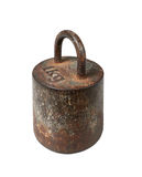Old iron metric weight, 1 kg Stock Photos