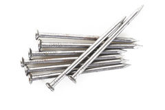 Old iron nails head Royalty Free Stock Photography