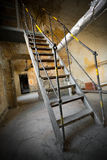 An old iron stair Stock Photos