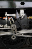 Old Iron and Steel Detail of Steam Locomotive Royalty Free Stock Image