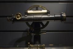 Old iron telescope. Royalty Free Stock Image