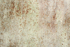 Old iron texture with cracked paint Royalty Free Stock Images