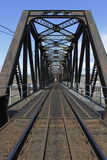 Old Iron Train Bridge Royalty Free Stock Image
