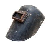 Old iron welder mask Stock Image