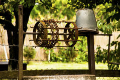 Old iron well Royalty Free Stock Photography