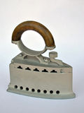Old iron. On white background Royalty Free Stock Photography