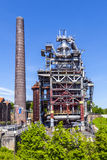 Old iron works monuments Royalty Free Stock Photography