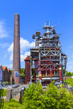 Old iron works monuments. From the late 20th century Stock Image