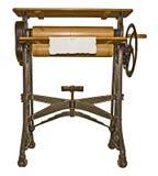 Old ironing machine Royalty Free Stock Images