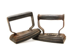 Old irons Royalty Free Stock Image