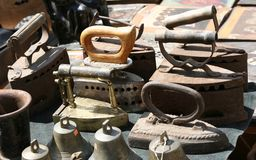 Old irons. Very old irons in Suzdal (Russia Royalty Free Stock Photography