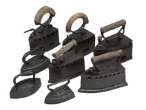 Old irons Stock Images