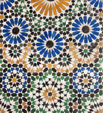 Old Islamic Mosaic Royalty Free Stock Image