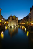 Old Island Prison in Annecy France stock photography