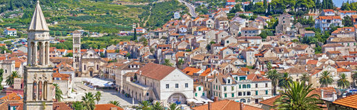 Old island town of Hvar Stock Photography