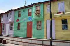 Old Istanbul houses Stock Image
