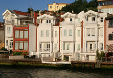Old Istanbul houses Royalty Free Stock Photo