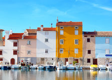 Old Istrian town stock photography