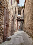 Old italian alley Stock Photos