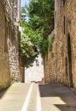 Old italian alley royalty free stock photo