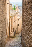 Old italian alley stock photography