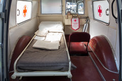 Old italian ambulance Royalty Free Stock Images