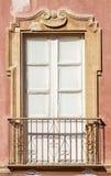 Old italian balcony. Stock Photos
