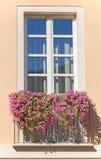 Old italian balcony Stock Photo