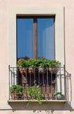 Old italian balcony Royalty Free Stock Photo