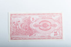 Old Italian banknotes, money Royalty Free Stock Photos