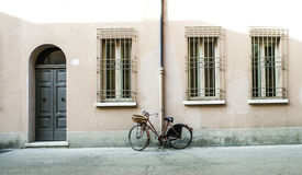 Old Italian bicycle Stock Photography