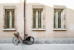 Old Italian bicycle Royalty Free Stock Photography