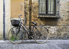 Old Italian bicycle Stock Images