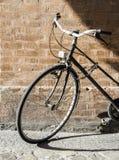 Old Italian bicycle stock photo