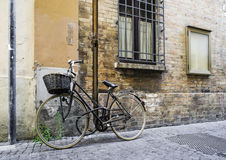 Old Italian bicycle royalty free stock photos