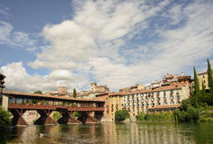 Old Italian Bridge Stock Photo