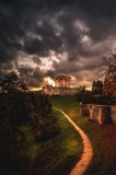 Old italian castle. This is an old castle near Venice royalty free stock images
