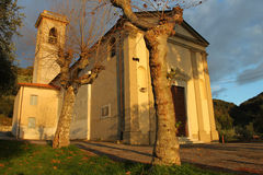 Old Italian chapel Stock Images